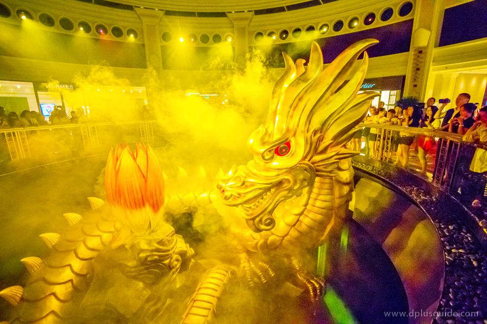 มังกรออกมาแล้ว!! โชว์มังกรแห่งโชคลาภ (Dragon of Fortune) ในวินน์มาเก๊า รีสอร์ท