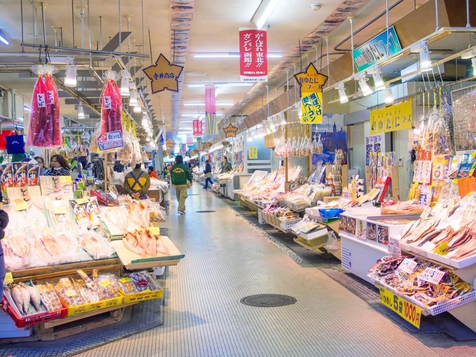 Hokkaido-Asaichi-Market