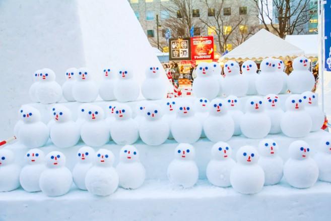เที่ยวเทศกาลประดับไฟฤดูหนาวที่ญี่ปุ่น, เที่ยวฮอกไกโดฤดูหนาว, เที่ยวเทศกาลหิมะที่ญี่ปุ่น