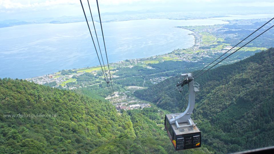 ทะเลสาบบิวะ (Lake Biwa) ที่ใหญ่และมีชื่อเสียงที่สุดในญี่ปุ่น