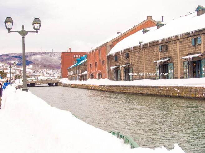เที่ยวฮอกไกโด เดินเลียบเที่ยวชมคลองโอตารุ (Otaru Canal)