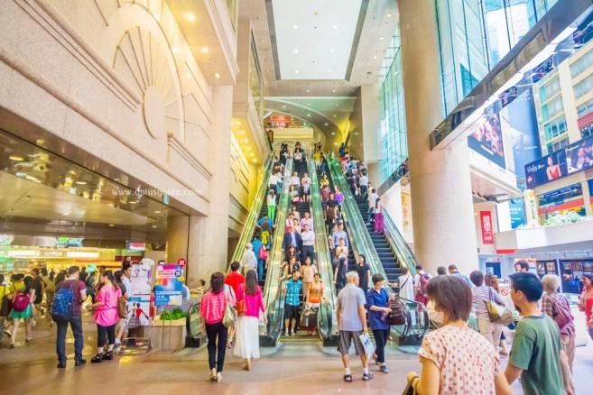 ช้อปที่ฮ่องกง ไทม์สแควร์ (Time Square) ห้างใหญ่สุดย่านคอสเวย์เบย์ (Causeway Bay)