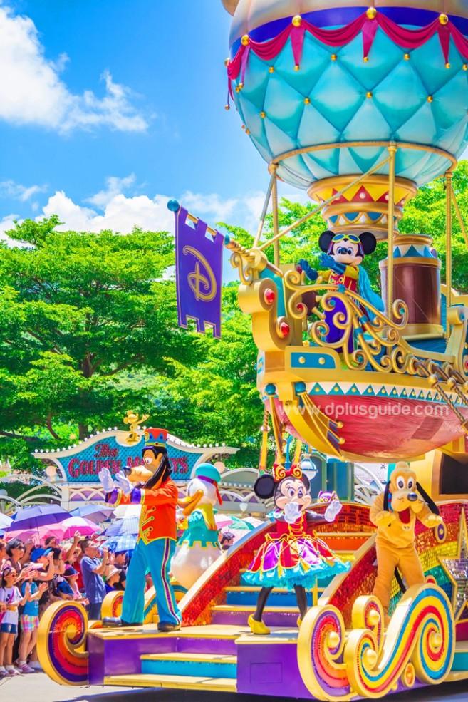 ขบวนพาเหรด Hong Kong Disneyland