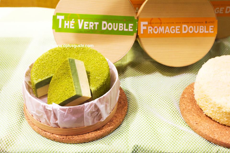 ของฝากจากฮอกไกโด Double Fromage Cheesecake จากร้าน LeTAO