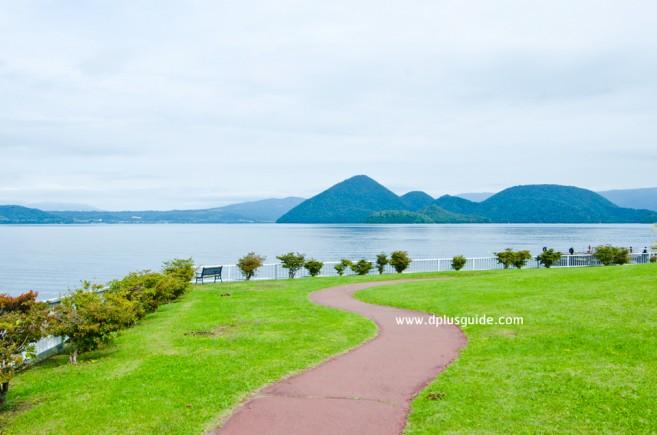เที่ยวฮอกไกโด ทะเลสาบโทยะ (Lake Toya) ทะเลสาบปากปล่องภูเขาไฟ ใหญ่สุดๆ!