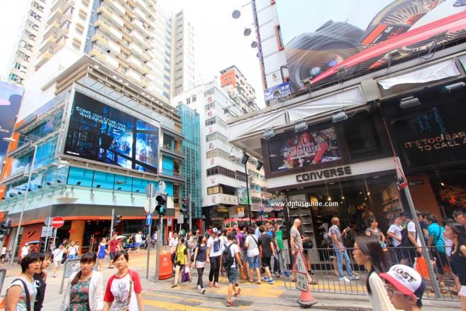 แหล่งช้อปปิ้งที่ฮ่องกง ถนนกีฬา Fa Yuen Street South