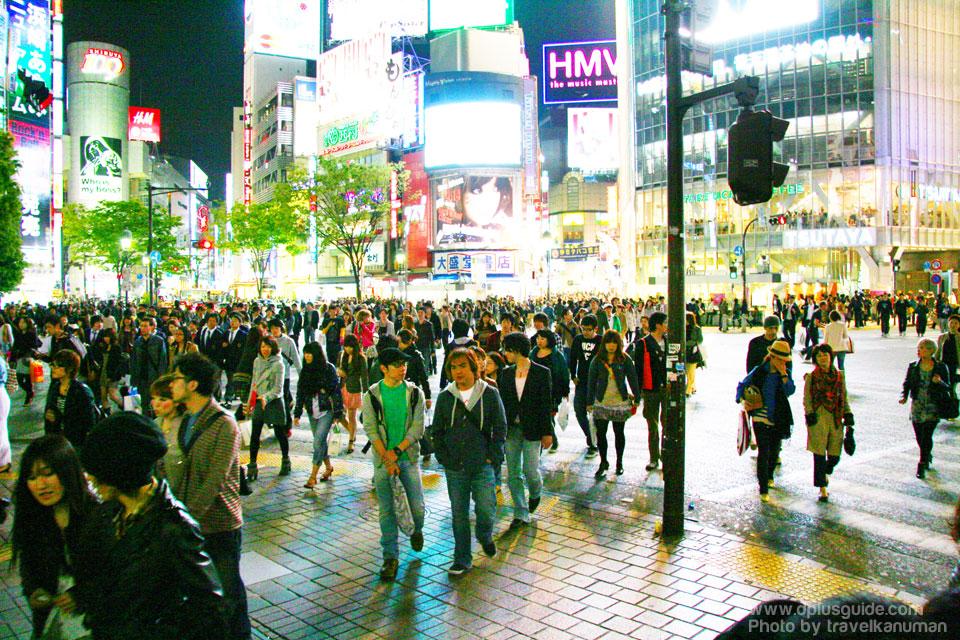 Shibuya (Tokyo) แหล่งช้อปปิ้งที่ญี่ปุ่น