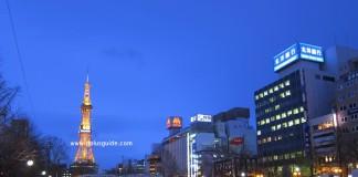 เที่ยวฮอกไกโด ชมวิวที่หอส่งทีวีซัปโปโร (Sapporo TV Tower)