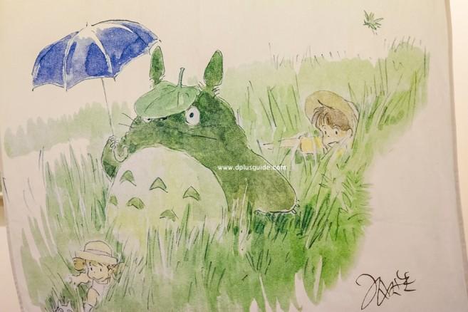 โตโตโร่ (My Neighbor Totoro) พิพิธภัณฑ์จิบลิ (Ghibli Museum)
