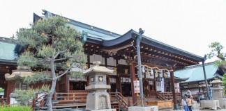 ขอพรเทพเจ้าที่ศาลเจ้าโอซาก้าเทมมังงุ Osaka Tenmangu Shrine