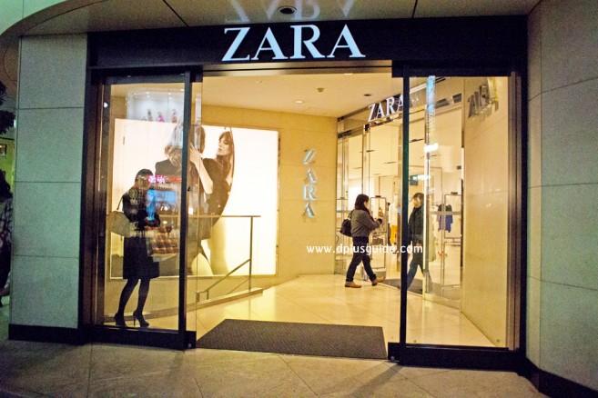 แนะนำแหล่งช้อปในโตเกียว ร้านเสื้อผ้า ZARA ก็มีช็อปในย่านชินจุกุ (Shinjuku)