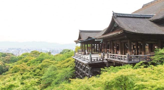 เที่ยวญี่ปุ่นชมซากุระที่ วัดคิโยมิสึเดระ (Kiyomizudera) เมืองเกียวโต (Kyoto) ภูมิภาคคันไซ (Kansai)