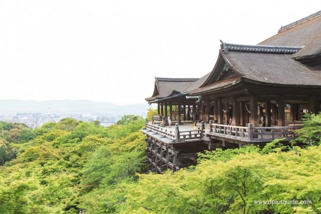 วัดคิโยมิสึเดระ (Kiyomizudera) หรือวัดน้ำใส สถานที่เที่ยวเกียวโต