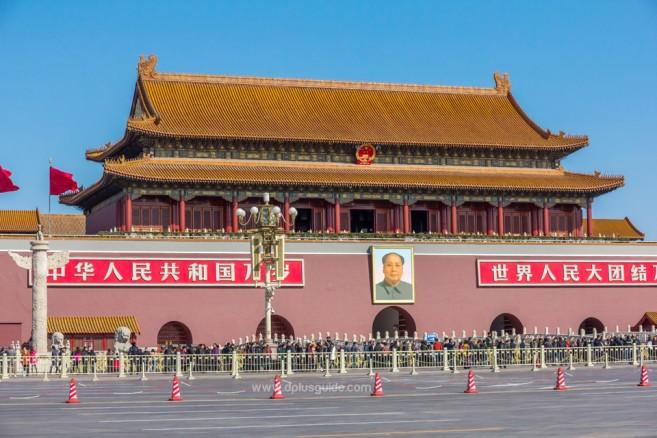 Tian an Men เทียนอันเหมิน จตุรัสขนาดใหญ่ใจกลางกรุงปักกิ่ง
