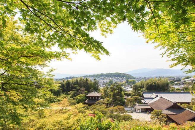 วัดกินคะคุจิ (Ginkakuji) หรือวัดพลับพลาเงิน สถานที่เที่ยวเกียวโต