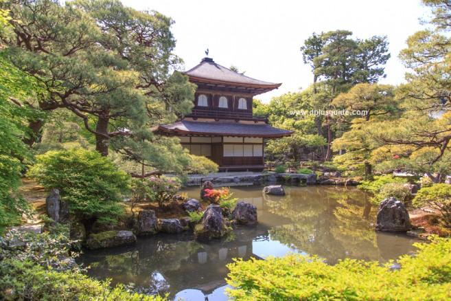 ดกินคะคุจิ (Ginkakuji) หรือวัดพลับพลาเงิน สถานที่เที่ยวเกียวโต