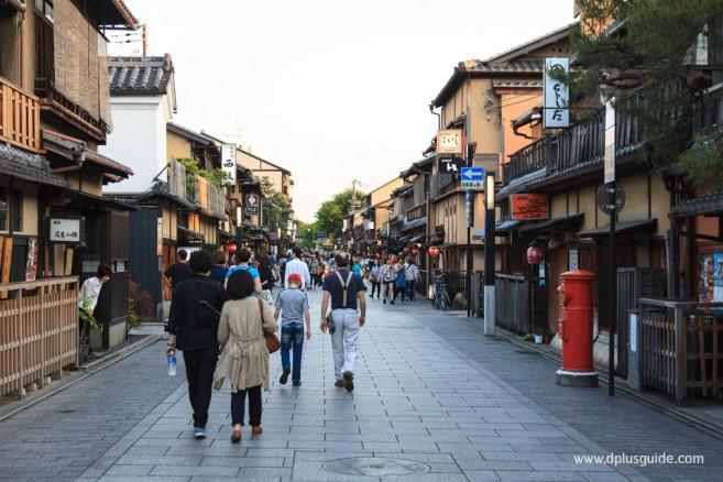 ย่านกิอน Gion สถานที่เที่ยวเกียวโต