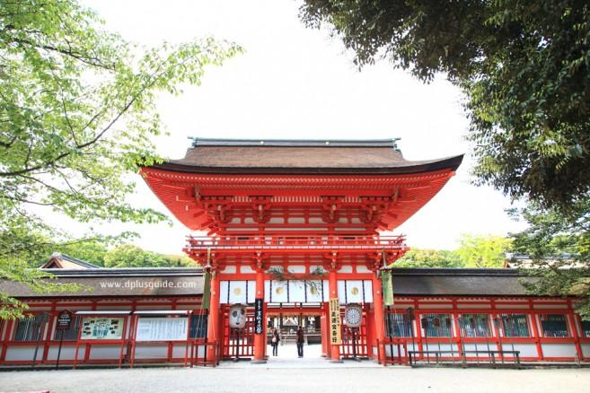 ศาลเจ้าชิโมคาโมะ หรือคาโมะมิโอยะ สถานที่เที่ยวเกียวโต