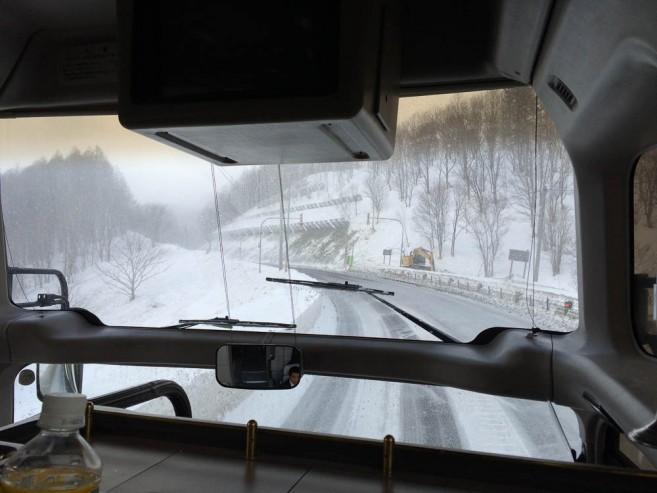 เที่ยวฮอกไกโดหน้าหนาว - รถบัสจากสนามบิน New Chitose ไป Niseko