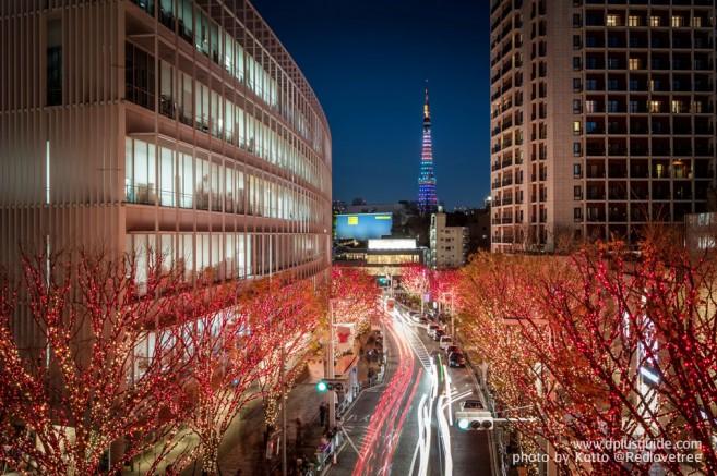 รปปงหงิฮิลล์ (Ropongi Hills) จุดชมวิวเมืองโตเกียว 360 องศา แหล่งบันเทิงยามค่ำคืน