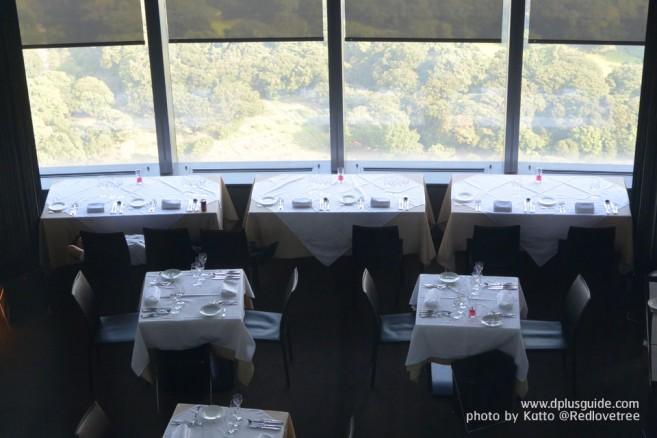 ใน caretta SHIODOME มี Sky Restaurant สำหรับชมวิวด้วยค่ะ