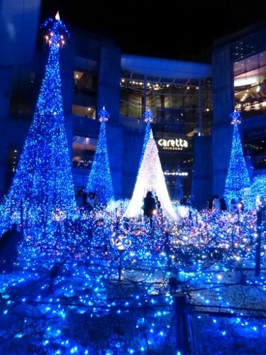 Caretta Illumination 2014 งานประดับไฟที่โตเกียว วันนี้-12 ม.ค. 58