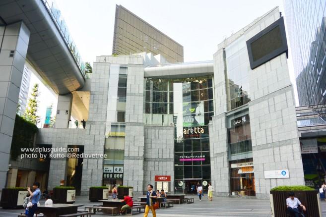 เที่ยวญี่ปุ่น caretta SHIODOME ห้างใหญ่ใจกลางย่านธุรกิจ ชิโอโดเมะ โตเกียว