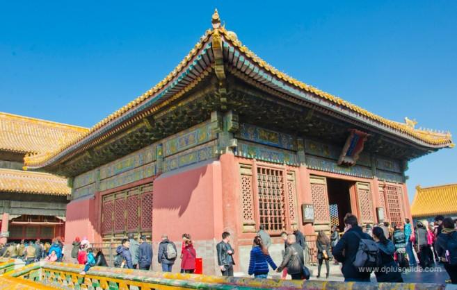 พระตำหนักเจียวไท่เตี้ยน สถานที่ส่วนพระองค์ของพระมเหสีในสมัยราชวงศ์หมิงและราชวงศ์ชิง