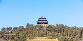 สวนจิงซาน Jingshan Park ขุนเขาเสริมฮวงจุ้ยกลางเมืองปักกิ่ง