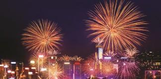 New Year • New World - Hong Kong Countdown Celebrations ที่ฮ่องกง