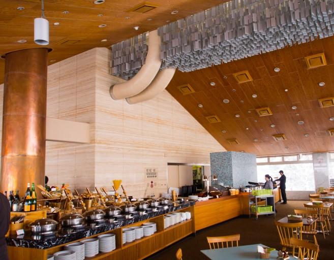 ห้องอาหารใน Geen Leaf Hotel