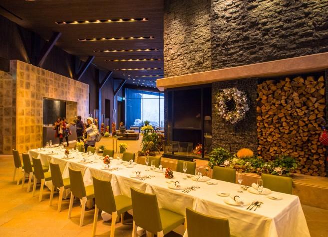 ห้องอาหารฝรั่งเศสอย่างหรูในโซนนี้