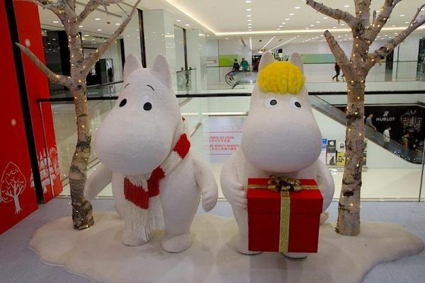 Moomin Cafe Hong Kong มูมินคาเฟ่ คาเฟ่มุ้งมิ้งที่ฮ่องกง