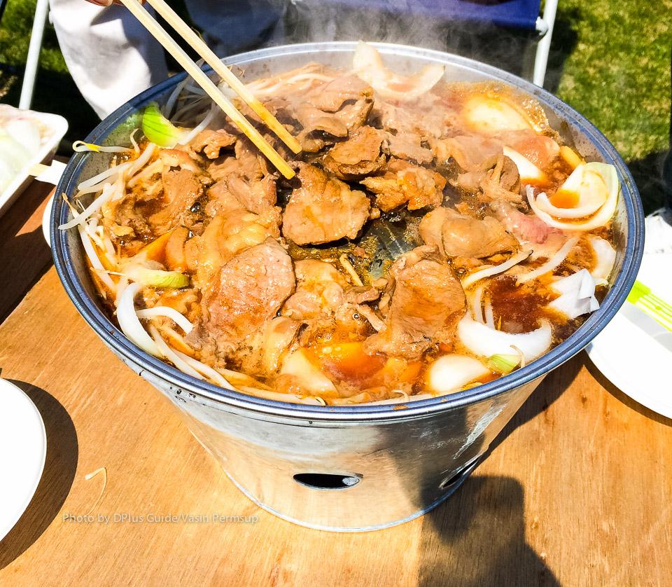 เทศกาลชมซากุระในสวน Ikoigamori Park ที่เมืองบิเอ (Biei)