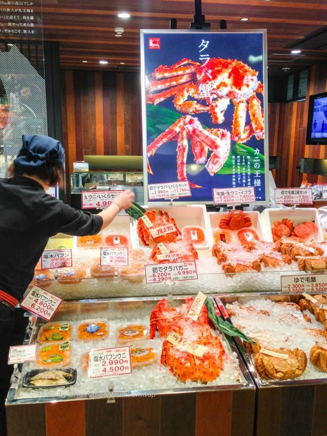 อาหารทะเล ขายกันในสนามบินเหมือนตลาดสดเลย