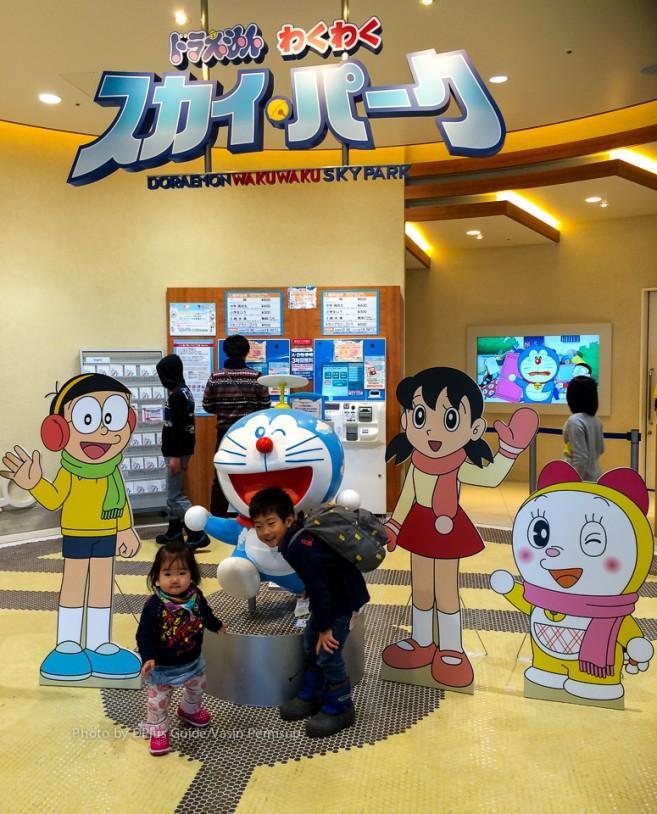 ทางเข้า Doraemon Wakuwaku Sky Park