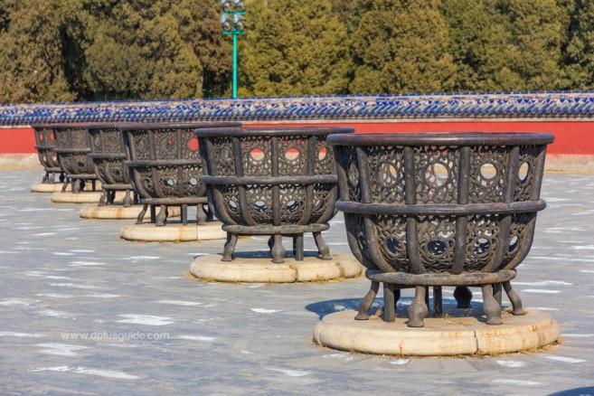เตาเผาสักการะอดีต 8 ฮ่องเต้ หยวนซิวถาน หรือแท่นบวงสรวงฟ้า หอบูชาฟ้าเทียนถาน ประเทศจีน
