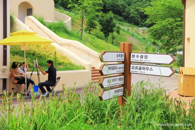 เที่ยวเกาหลี เยือนหมู่บ้านฝรั่งเศสถิ่นเจ้าชายน้อย ที่ Petite France