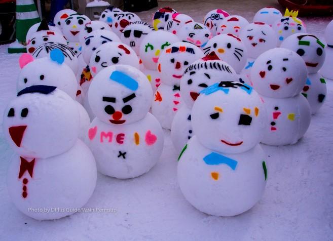 เหล่าตุ๊กตาหิมะ
