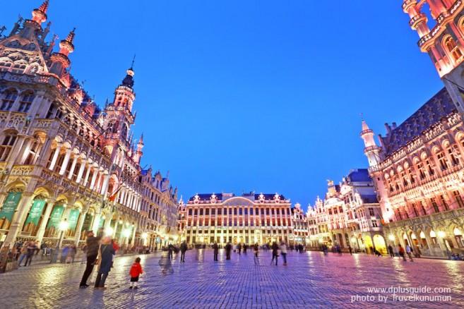 เที่ยวยุโรป กรองด์ปลาซ (Grand Place) มรดกโลก ที่บรัซเซลส์ ประเทศเบลเยียม