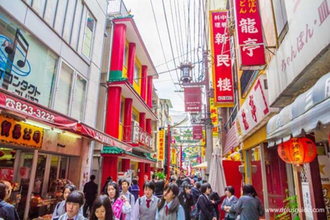 เที่ยวญี่ปุ่นย่านไชน่าทาวน์ ที่นางาซากิ (Nagasaki)