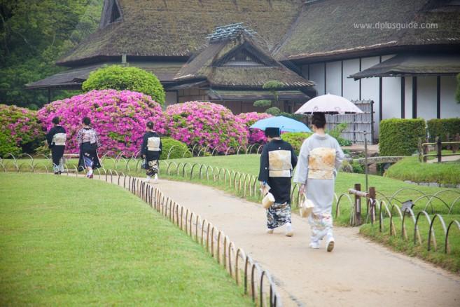 โคระคุเอ็น (Korakuen) 1 ใน 3 สวนญี่ปุ่นสวยสุด