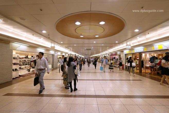 Nagoya Station Underground แหล่งช้อปปิ้งใหญ่ ใต้สถานีนาโงยา