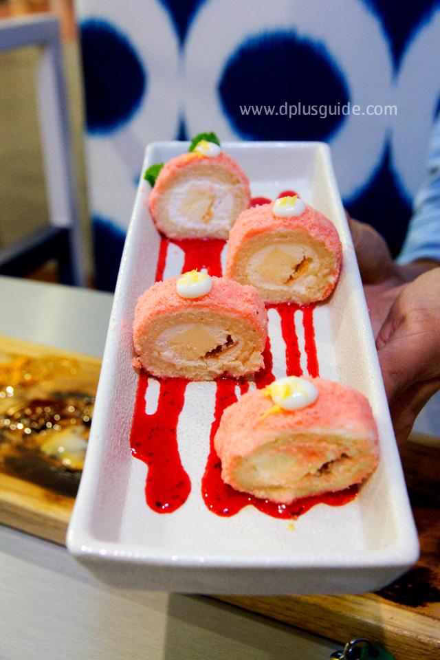 Hokkaido Light Cheese Sakura cake