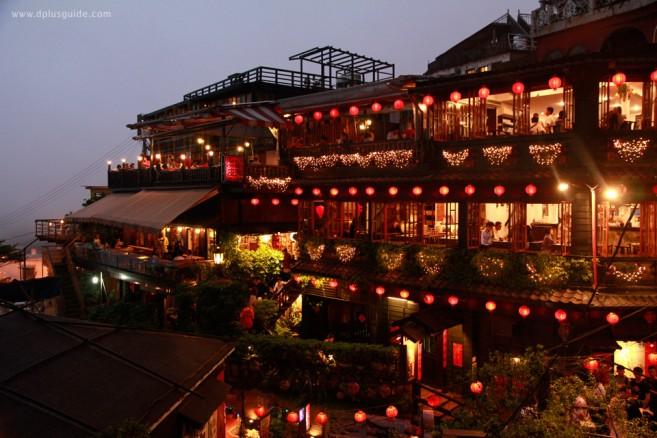 เที่ยวไต้หวัน ตะลุยไป ในจิ่วเฟิ่น (Jiufen) ยามค่ำคืน รงบันดาลในการสร้างแอนิเมชันชื่อดัง Spirited Away