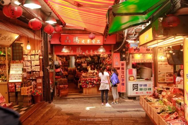 ก่อนจะจากไป ขอปิดด้วยภาพตลาดในถนนสายเก่าในเมืองจิ่วเฟิ่น