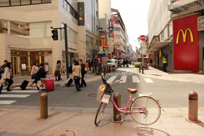 เที่ยวญี่ปุ่น คิวชู ย่าน Tenjin Fukuoka