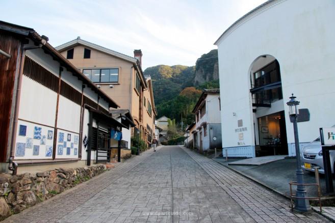 เที่ยวญี่ปุ่น หมู่บ้านโอคาวาจิยามะ หมู่บ้านเซรามิก