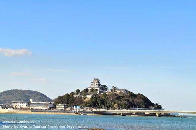 เที่ยวญี่ปุ่น ปราสาท Karatsu นกกระเรียนร่ายรำแห่งคิวชู