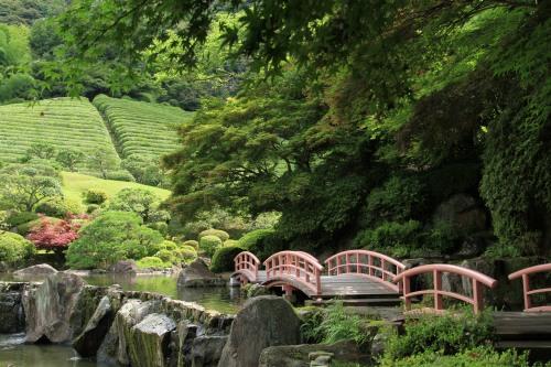 สวน Keishuen Japanese Garden จังหวัดซากะ